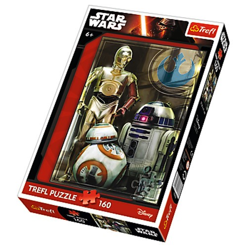 Puzzle 160 Star Wars VII Droidy