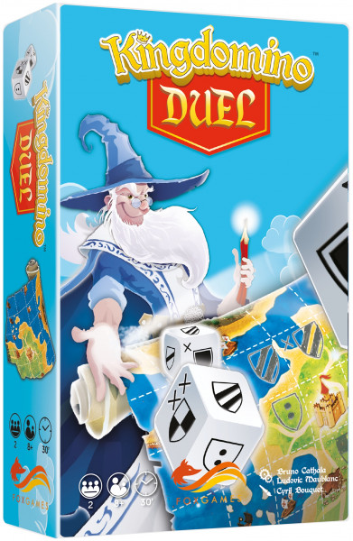 Kingdomino Duel. Gra