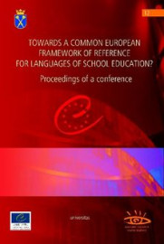 Towards a common european framework of reference for languages of school education?