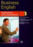 Business english negotiations and presentation z płytą cd