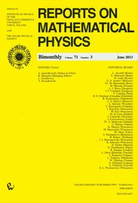 Reports on Mathematical Physics 54/3 - dostawa od 3,49 PLN - brak