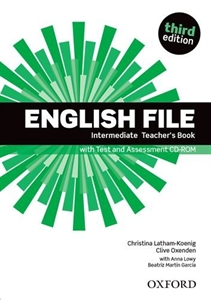 English File Third Edition Intermediate Teacher's Book with Test and Assesment CD-Rom