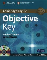Objective Key A2 Student's Book with answers + CD