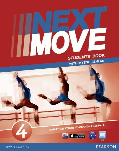 Next move 4 studrnt's book + myenglishlab