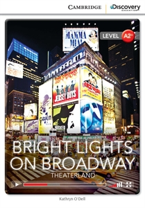 Bright lights on broadway