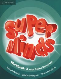 Super Minds 3 Workbook with Online Resources