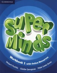 Super minds 1 workbook +online