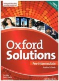 Oxford Solutions Pre-Intermediate Student's Book