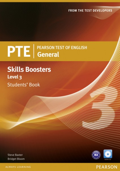 PTE General Skills Booster 3 Student's Book with CD