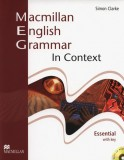 Macmillan English Grammar in Context Essential with key + CD