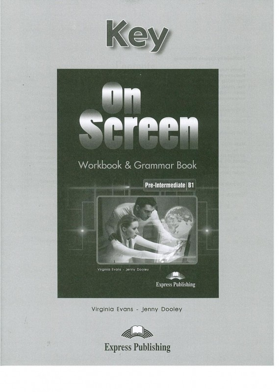 On Screen Pre-intermediate Workbook & Grammar Book Key