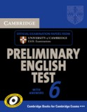 Preliminary English test 6 with answers + CDs