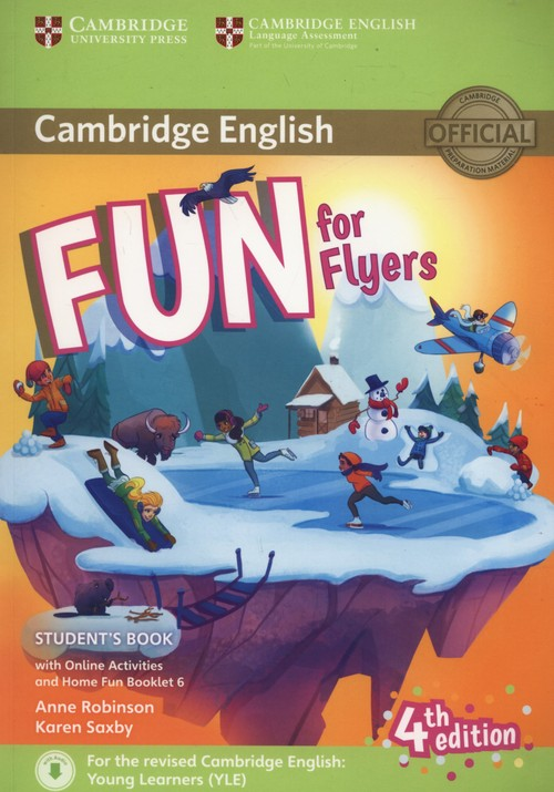 Fun for Flyers Student's Book + Online Activities + Audio + Home Fun Booklet 6