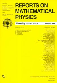 Reports on Mathematical Physics 79/1 2017 - dostawa od 3,49 PLN - brak