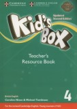 Kids Box 4. Teacher's Resource Book