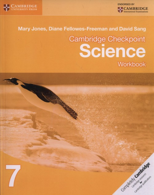 Cambridge Checkpoint. Science 7, Workbook
