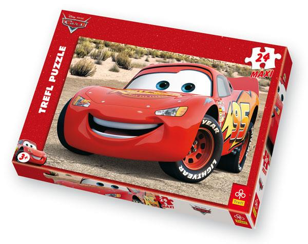 Puzzle maxi 24 Cars Auta Zygzak Mc Queen