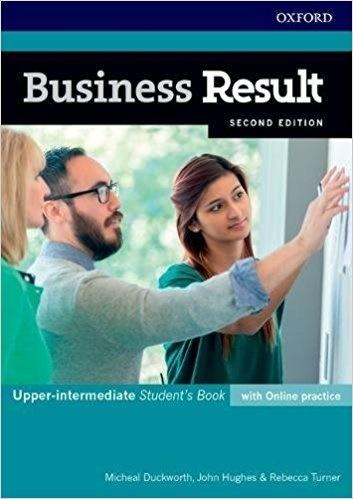 Business Result 2E Upper-intermediate Student's Book with online practice