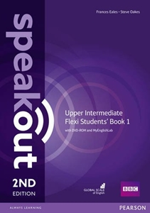 Speakout 2ED Upper Intermediate Flexi Students' Book 1 with DVD-ROM and MyEnglishLab