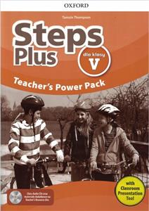 Steps Plus dla klasy V Teacher's Power Pack