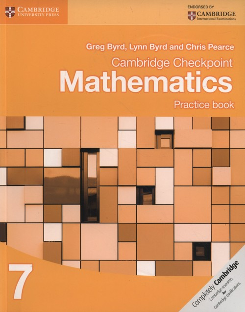Cambridge Checkpoint Mathematics Practice Book 7