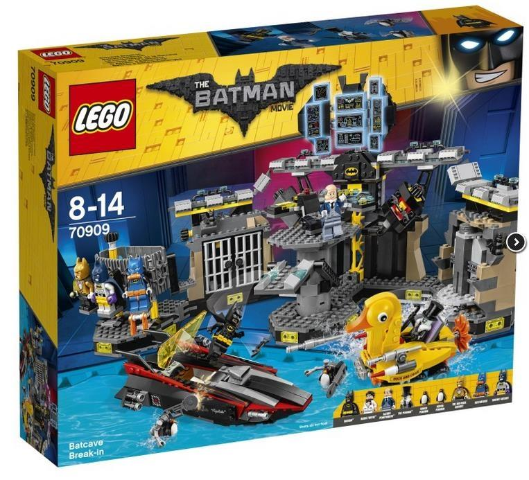 THE LEGO® BATMAN MOVIE Włamanie do Jaskini Batmana