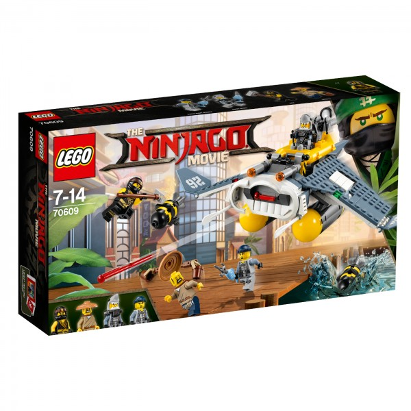 THE LEGO® NINJAGO® Movie™ Bombowiec Manta Ray