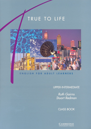 True to life upper-intermediate class book