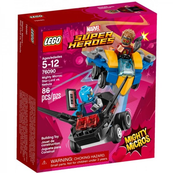 LEGO® Marvel™ Super Heroes Star-Lord vs. Nebula