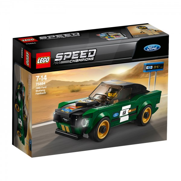 LEGO® Speed Champions Ford Mustang Fastback z 1968 r.
