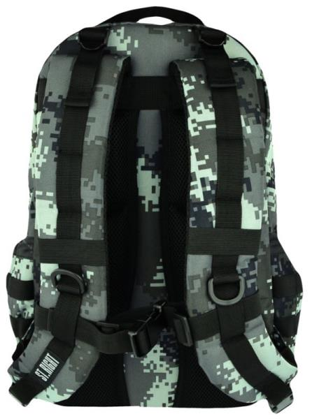 Plecak 1-komorowy BP39 MILITARY BLACK DIGITAL CAMO St.Right