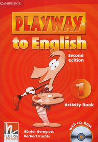 Playway to english 1 activity book with cd-rom