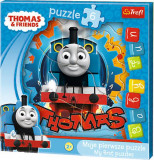 Baby Fun Thomas and friends Moje pierwsze puzzle - lokomotywa Tomek
