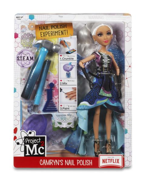 Project Mc2. Eksperyment z lalką Nail polish