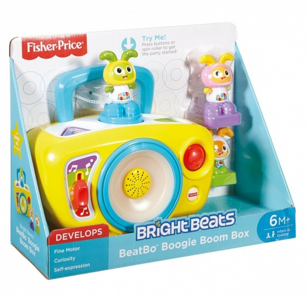 Fisher-Price. Interaktywny magnetofonik BeBo