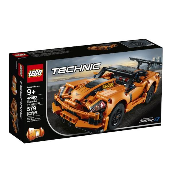 LEGO® Technic Chevrolet Corvette ZR1 2w1
