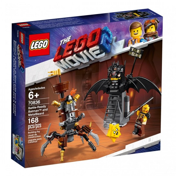 THE LEGO® MOVIE 2™ Batman™ i Stalowobrody