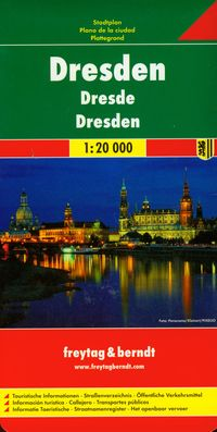 Dresden city map 1:20 000