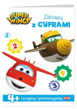 Super Wings Zabawy z cyframi