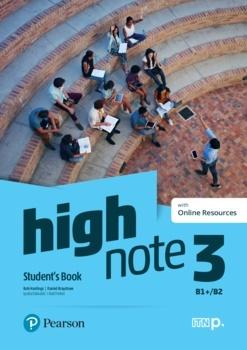 High Note 3 SB B1+/B2 + Online Resources PEARSON