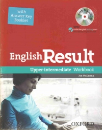 English result upper-intermediate workbook with answer key booklet+cd