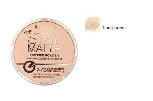 Stay Matte Long Lasting Pressed Powder puder prasowany 1 Transparent 14g