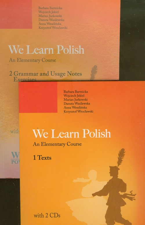 We Learn Polish Tom 1-2 + 2 CD