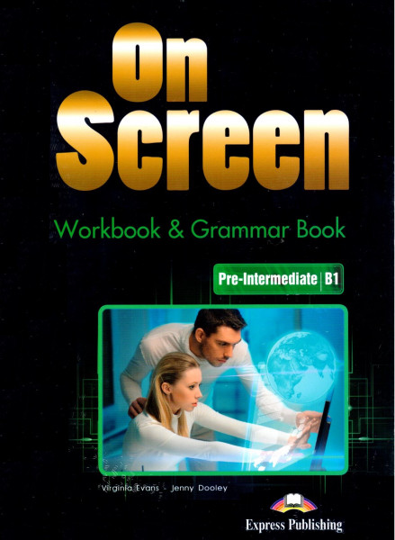 On Screen Pre-Intermediate B1 Workbook + Grammar Book + DigiBook