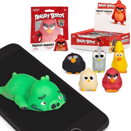 Angry Birds Squishy Buddies mix
