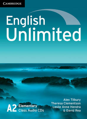 English unlimited a2 elementary class audio cds