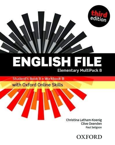 English File 3E Elementary Multipack B + online