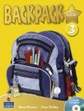 Backpack gold 3 student's book+cd