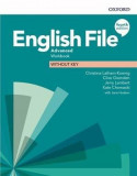 English File 4e Advanced Workbook without Key