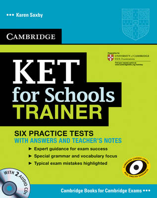 Ket for schools trainer with 2 audio cds